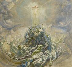 L'homme Dieu - Jean Delville1900