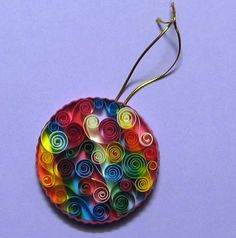 DAYDREAMS: Quilled ornaments