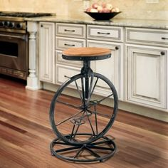 Shop for Michaelo 20-inch Bicycle Wheel Adjustable Barstool by Christopher Knight Home. Get free shipping at Overstock.com - Your Online Furniture Outlet Store! Get 5% in rewards with Club O! - 14058797