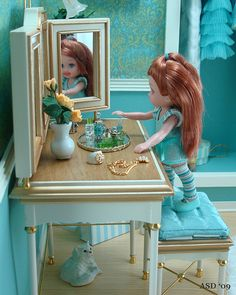 Barbie scene: A Place to Primp 5 by Diva Details, via Flickr