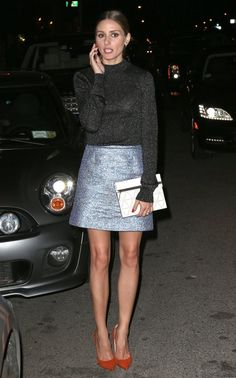Olivia Palermo Photos: Olivia Palermo On A Night Out In New York