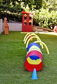 Birthday Party Activities For Kids Obstacle Course 36 Super Ideas Fireman Party, Firefighter Birthday, Birthday Party Games, 4th Birthday Parties, Party Party, Party Ideas, 3rd Birthday, Paw Patrol Party, Paw Patrol Birthday