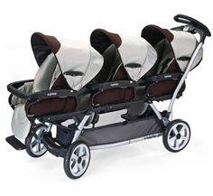 Click Image Above To Purchase: Peg Perego Triplette Sw Travel System With 2 Seats And A Diaper Bag - Java Quad Stroller, Twin Pram, Peg Perego, Babies R Us, Reborn Babies, Travel System, Trends, Triplets, Trendy Baby
