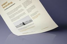 A great A4 paper psd mockup to showcase your letterhead or other stationery designs with ease. Change the paper color and...