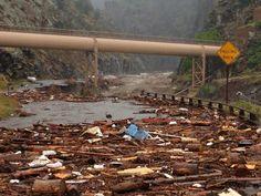 Get Well, Colorado! The Dam Store in Loveland, Colorado, 2013 Colorado floods…