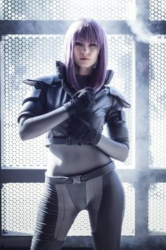 Character: Motoko Kusanagi / From: Kodansha & Production I.G's 'Ghost in the Shell' Manga & Anime Series / Cosplayer: Emily Aurelia Cosplay (aka Luna Lovely Cosplay) / Photo: Indiglue (2016)