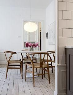 "urbnite: "" Wishbone Chair by Hans Wegner """