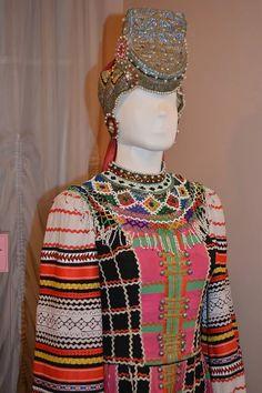 Voronezh People's Suit  Monisto Voronezh Costume    Воронежский Народный Костюм  Монисто Воронежский Костюм