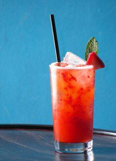 Strawberry Bourbon Cocktail