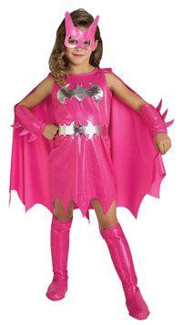 Girls #Pink #Batgirl #Costume