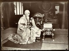 The Abbot of Ikegami Japan  1907