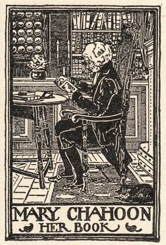 Ex Libris for Mary Chahoon