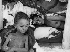 Death From Exposure  Women and children were often victims of cold weather at the camp, and were discovered after its liberation.   http://allday.com/post/2226-shocking-photos-from-the-liberation-of-auschwitz