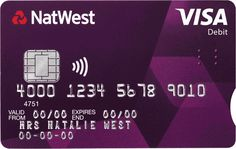 NatWest Accessible Debit Card