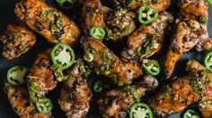 Zest up and grill some chicken wings in a chimichurri marinade with a kick.