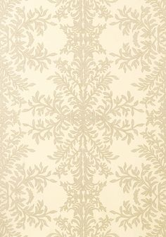 Verre Eglomise #wallpaper in #cream from the Artisan collection. #Thibaut