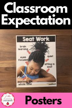 Use real pictures to teach your students your classroom expectations for back to school. Students are better able to relate when they see a students similar to themselves demonstrating the correct way to behave in a classroom setting. Support your classroom management and school-wide PBIS systems with these posters and materials. From seat work, carpet time, and teacher table to read to self and listen to reading, this pack has you covered! #classroommanagement #backtoschool Calm Classroom, Classroom Behavior, First Grade Classroom, Classroom Rules, Classroom Setting, School Classroom, Classroom Ideas, Classroom Supplies, Classroom Organization
