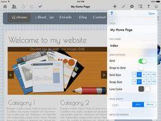 Web Page Creator for iOS - HTML Egg - Design hjemmeside på ipad uden programmering