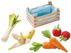 warzywa z materiału
