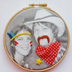 Hey, I found this really awesome Etsy listing at https://www.etsy.com/listing/263806620/photo-embroidery-embroidery-hoop-art