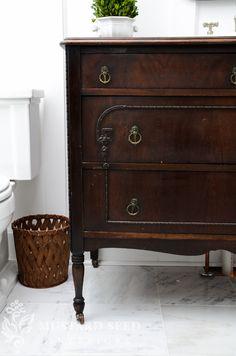Master Bathroom Details & Reveal - Miss Mustard Seed