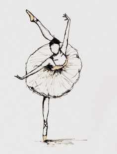 I love finding interesting representations of ballet in art. These sketches are all so beautiful, I simply had to share! I've always wish...