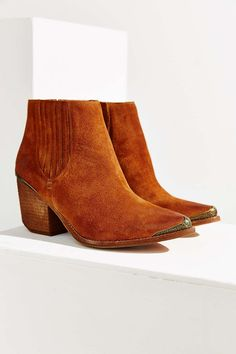 Jeffrey Campbell Rawlins Metal Ankle Boot - Urban Outfitters