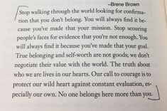 #brenebrown #elephantjournal I really love this.