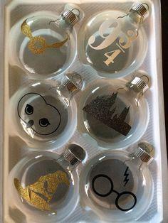 Harry Potter christmas ornaments mini