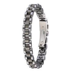 Polished Men's Tungsten Carbide Bracelet - Tungstenjewellry.com