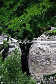 Connecting Giltat and Ailtat Villages. .  Hunza Valley , Pakistan. . Follow me here MrZeshan Sadiq