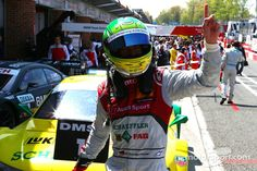 Mike Rockenfeller Audi Sport Team Phoenix