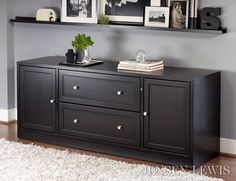 Jesper Office Wood Storage Credenza   Overstock™ Shopping   The Best Prices  On Jesper Office Credenzas