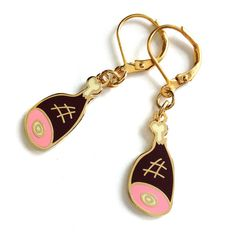 Ham Dangle Earrings
