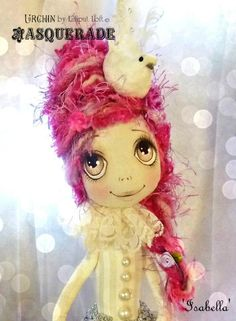 Urchin Art Doll Isabella by Vicki at Lilliput Loft