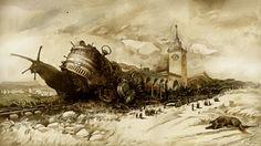 """emporioefikz: """" Delay of trains by Yuri Laptev """""""