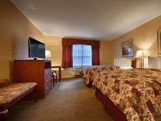 Angels Camp (CA) Best Western Cedar Inn and Suites United States, North America Ideally located in the prime touristic area of Angels Camp, Best Western Cedar Inn and Suites promises a relaxing and wonderful visit. The hotel offers guests a range of services and amenities designed to provide comfort and convenience. Service-minded staff will welcome and guide you at the Best Western Cedar Inn and Suites. All rooms are designed and decorated to make guests feel right at home, a...