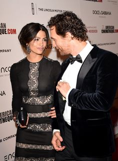 Pin for Later: Matthew McConaughey and Camila Alves Have Years of Adorable Moments  The duo shared a moment on the red carpet at an October 2014 LA event.