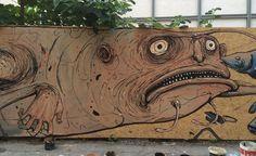 Nemo's - Italian Street Artist - Cremona (IT) - 06/2015 - |\*/| #nemo's #streetart #italy