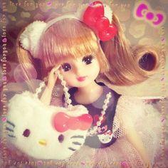 キティさんコラボのリカちゃんげと〜\(^o^)/ #Girlish #Culture #japan #dollphotography #doll #instadoll  #dolly #リカちゃん #licca #takara #liccachan #licca_chan #liccadoll #人形 #hellokitty #kitty #キティ #ハローキティ #キティコラボ