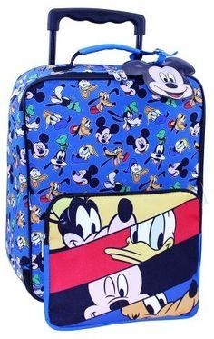 fe58dfcb47ff Disney Mickey Mouse® Luggage Set - 3pc Mickey Mouse Luggage