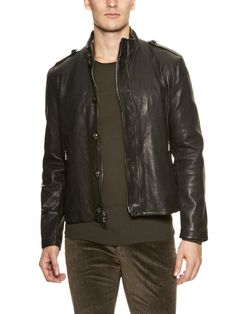 LOVE this Varvatos motorcycle jacket, available today on Gilt, but not for $799 (even though that price is 60% off retail!).