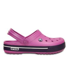 This Wild Orchid & Royal Purple Crocband Clog - Unisex is perfect!