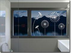 Fensteraufkleber Pusteblume Design