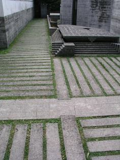 Carlo Scarpa concrete paving detail - Welcome to O2 Landscapes - Essay 2b