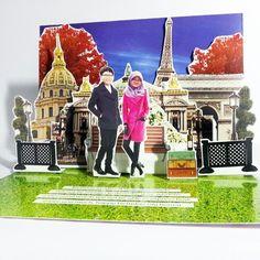 Paris pop up card by popcrafty