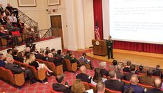Lieutenant General Trung of Vietnam's National Defense Academy lectures to students and faculty at NDU [U.S. Army (Jose Velazquez)]