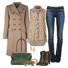 Коричневые ботильоны на каблуке хорошо сочетаются с кремовыми, бежевыми, голубыми, розовыми и зелеными тонами одежды. Темно-коричневые ботильоны (или ботильоны шоколадного цвета) удачно дополняют лимонно-желтую, голубую и розовую одежду, а также элементы гардероба цвета хаки, зеленой мяты и зеленого лайма. Светло-коричневым ботильонам подойдет бледно-желтая, кремовая, синяя зеленая и красная одежда, плюс аксессуары в тон обуви.