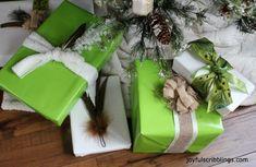 Non-traditional Christmas Wrap