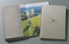 Selsdon Park Hotel Brochure cover and spread